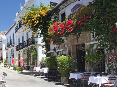 Marbella old city